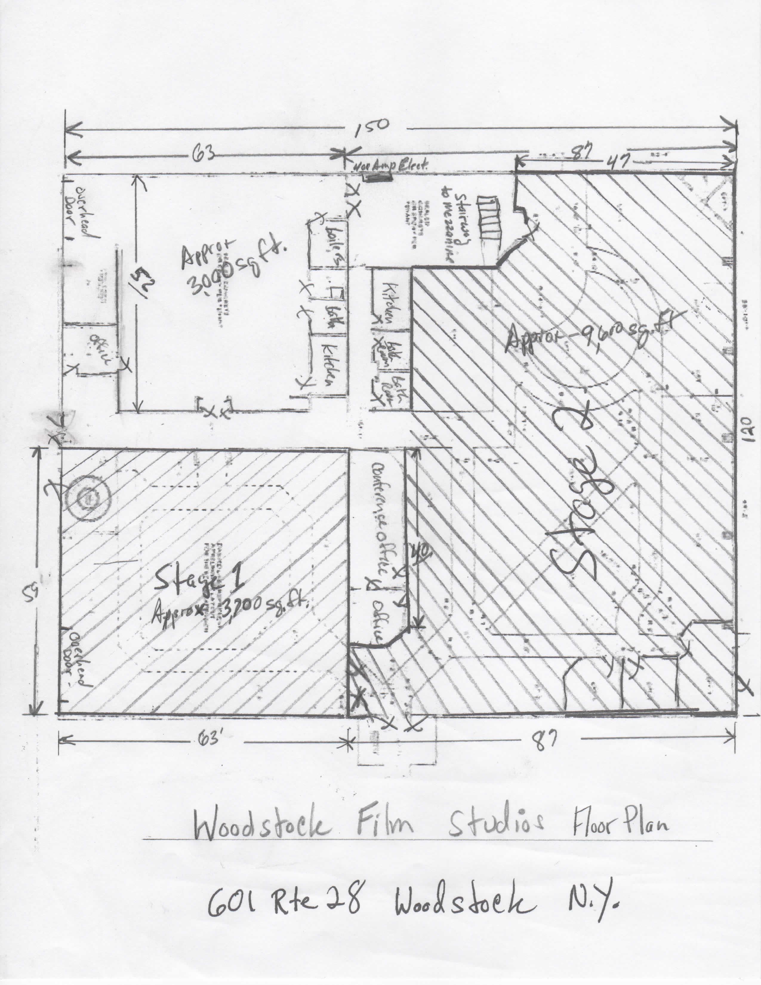 Floor Plans Woodstock Film Studios